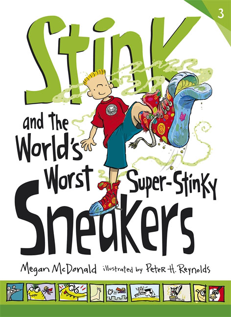 Купить Stink and the World's Worst Super-Stinky Sneakers,