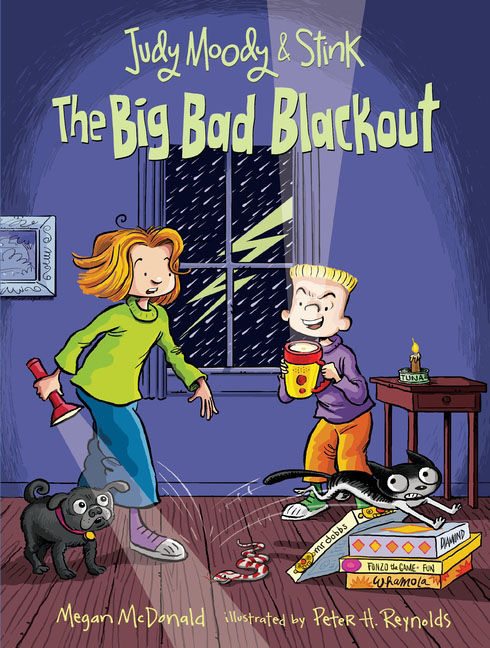 Купить Judy Moody and Stink: The Big Bad Blackout,
