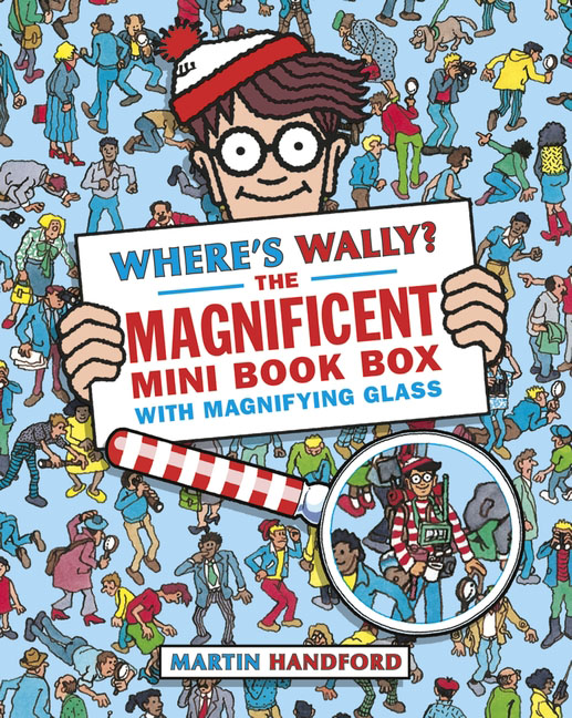 Where's Wally? The Magnificent Mini Book Box wally olins the brand handbook