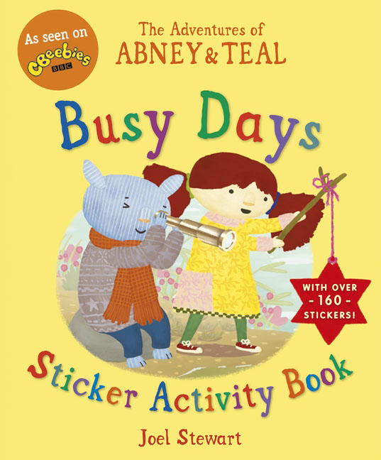 The Adventures of Abney & Teal: Busy Days Sticker Activity Book dayle a c the adventures of sherlock holmes рассказы на английском языке