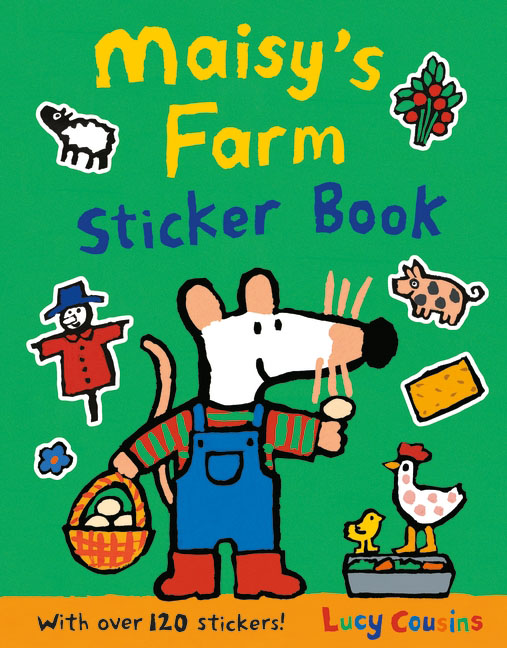 Maisy's Farm Sticker Book maisy s farm sticker book
