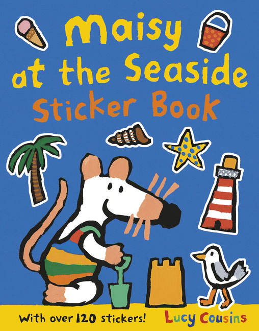 Maisy at the Seaside Sticker Book maisy goes by plane