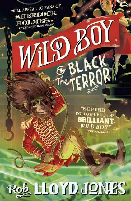 Wild Boy and the Black Terror a darkness at sethanon