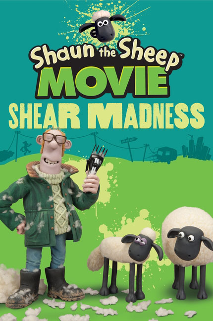 Shaun the Sheep Movie - Shear Madness место для отдыха трикси shaun the sheep 50х35см cream green
