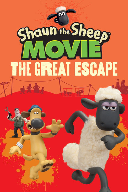 Shaun the Sheep Movie - The Great Escape место для отдыха трикси shaun the sheep 50х35см cream green