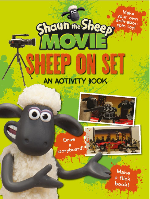 Shaun the Sheep Movie - Sheep on Set Activity Book место для отдыха трикси shaun the sheep 50х35см cream green