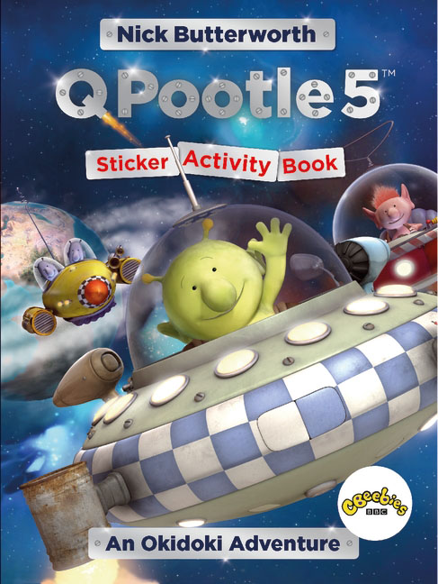 Q Pootle 5: An Okidoki Adventure Sticker Activity Book the usborne terrific colouring and sticker book