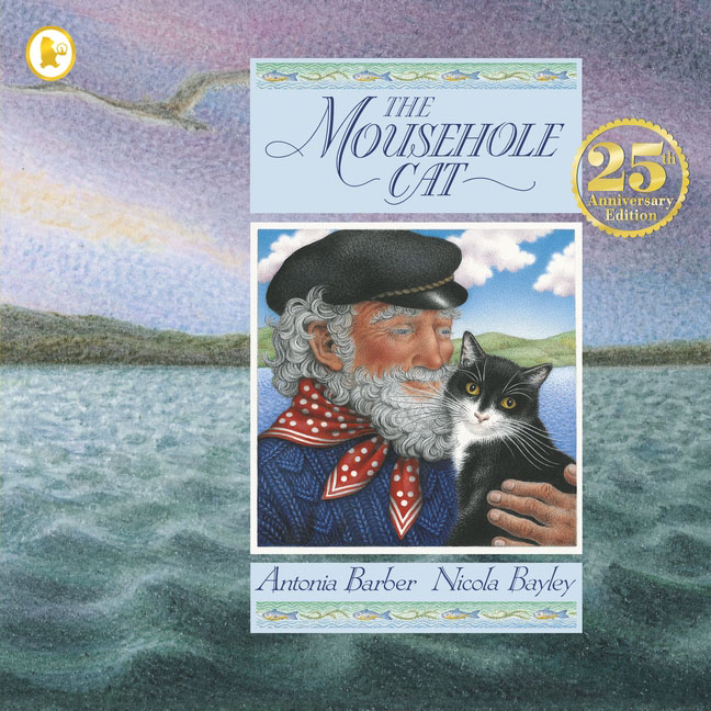 The Mousehole Cat a cat a hat and a piece of string