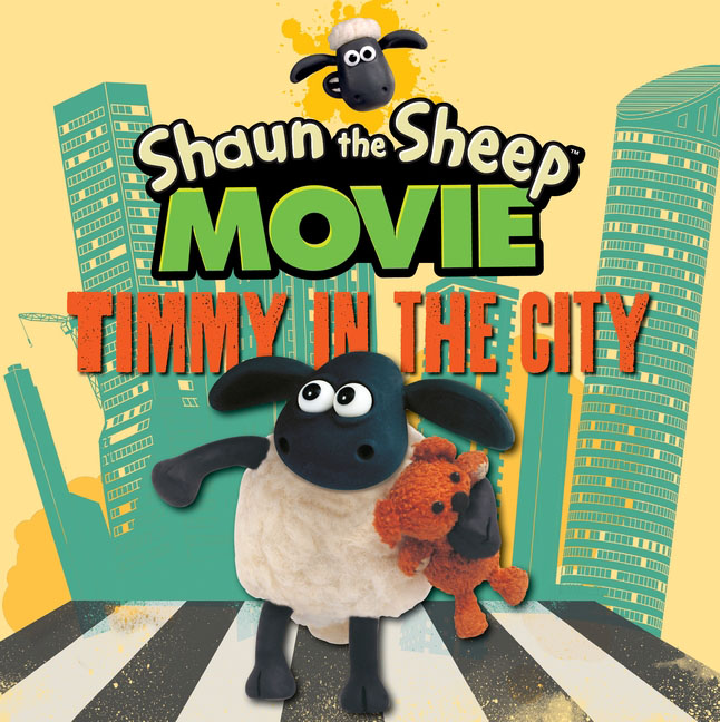 Shaun the Sheep Movie - Timmy in the City место для отдыха трикси shaun the sheep 50х35см cream green