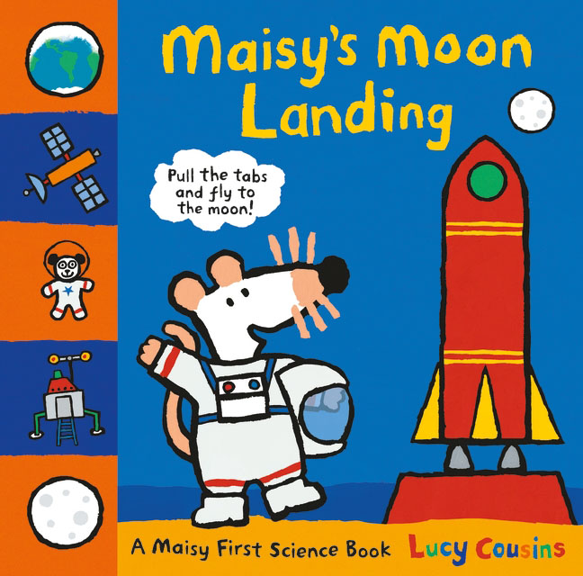 Maisy's Moon Landing from the earth to the moon
