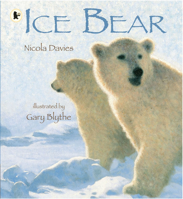 Ice Bear otto the book bear in the snow
