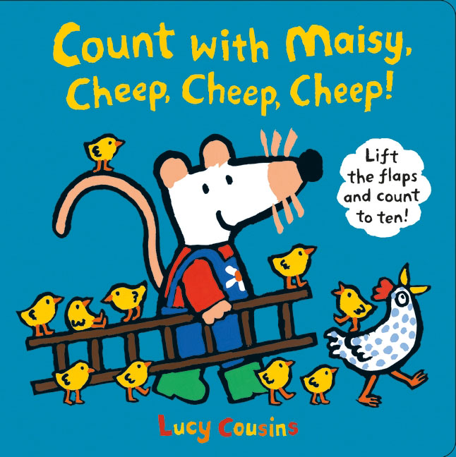 Count with Maisy, Cheep, Cheep, Cheep! maisy s farm sticker book