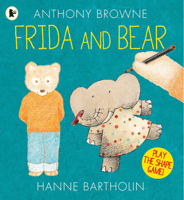 Frida and Bear otto the book bear in the snow