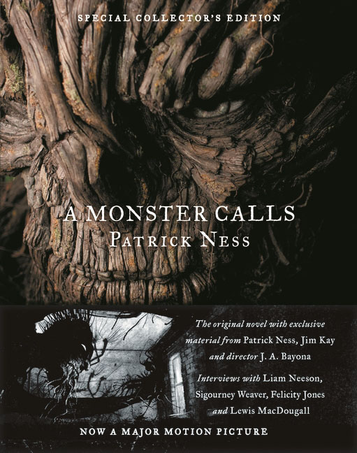 A Monster Calls: Special Collector's Edition a monster calls film tie in