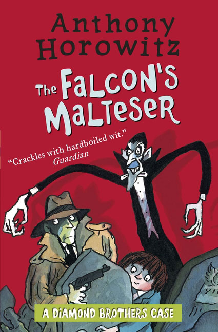 The Diamond Brothers in The Falcon's Malteser who were the brothers grimm