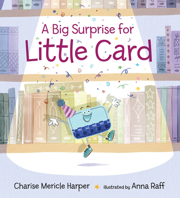 A Big Surprise for Little Card little books big shoes sb with cd rom