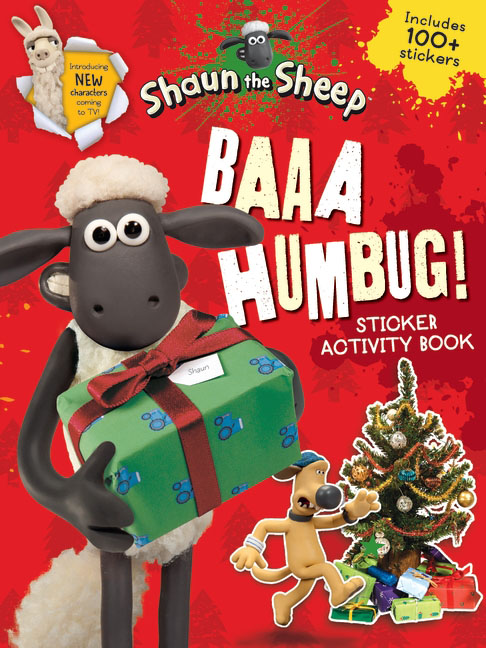 Baaa Humbug! A Shaun the Sheep Sticker Activity Book место для отдыха трикси shaun the sheep 50х35см cream green