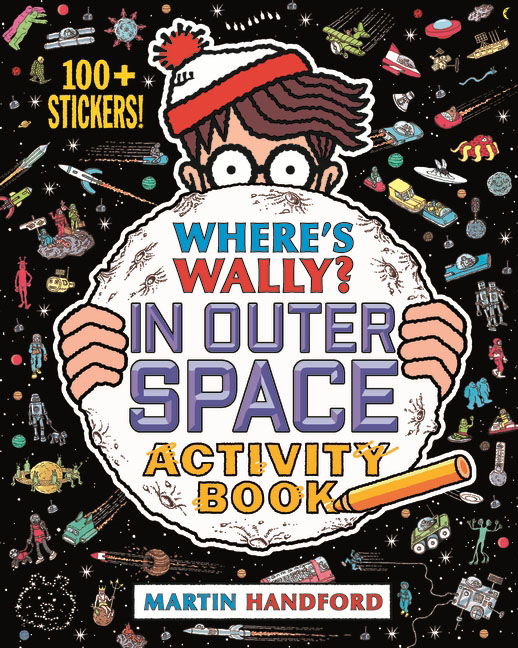 Where's Wally? In Outer Space twister family board game that ties you up in knots