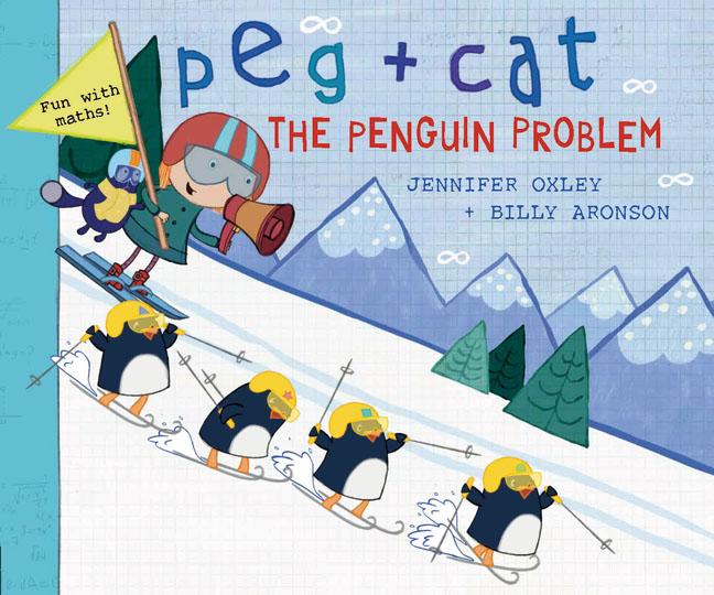 Peg + Cat: The Penguin Problem penguin active reading easystarts the blue cat club book