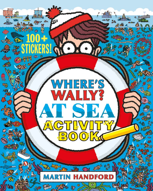 Where's Wally? At Sea: Activity Book where s wally across lands activity book 100 stickers