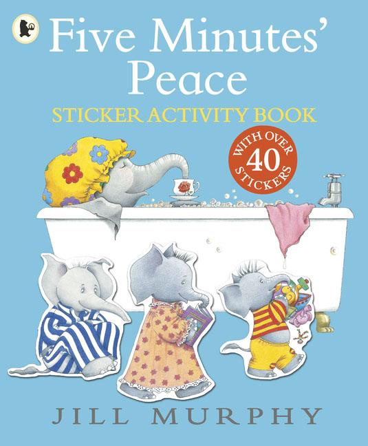 Купить Five Minutes' Peace: Sticker Activity Book,