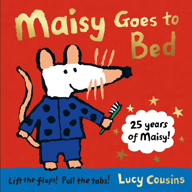 Maisy Goes to Bed go to bed blue