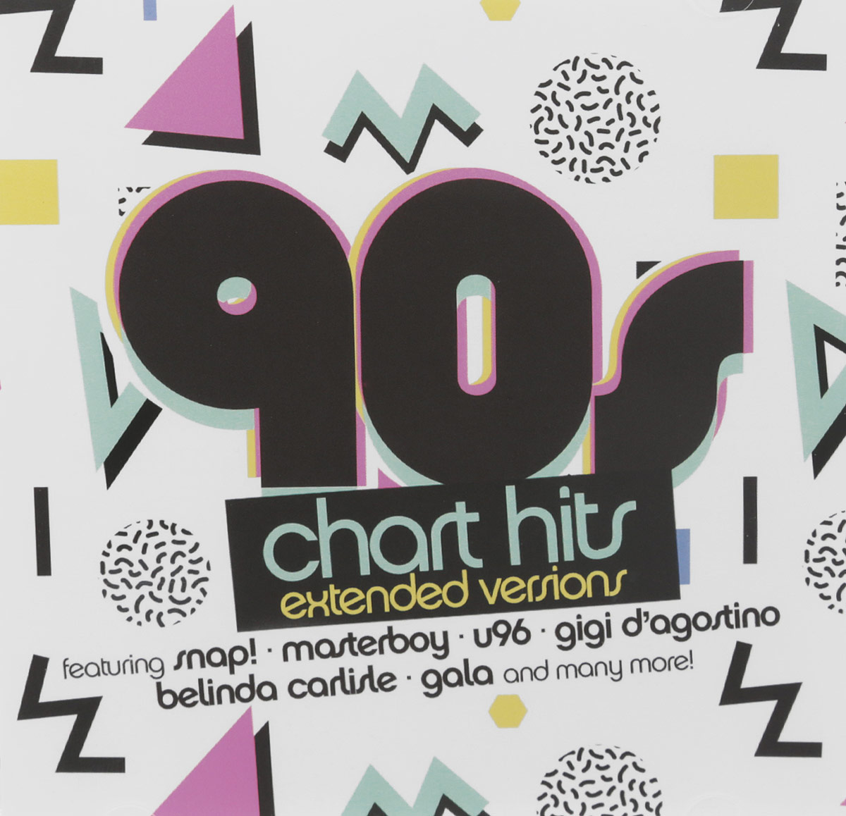 90s Chart Hits. Extended Versions (2 CD) midnight delight new extended version cd