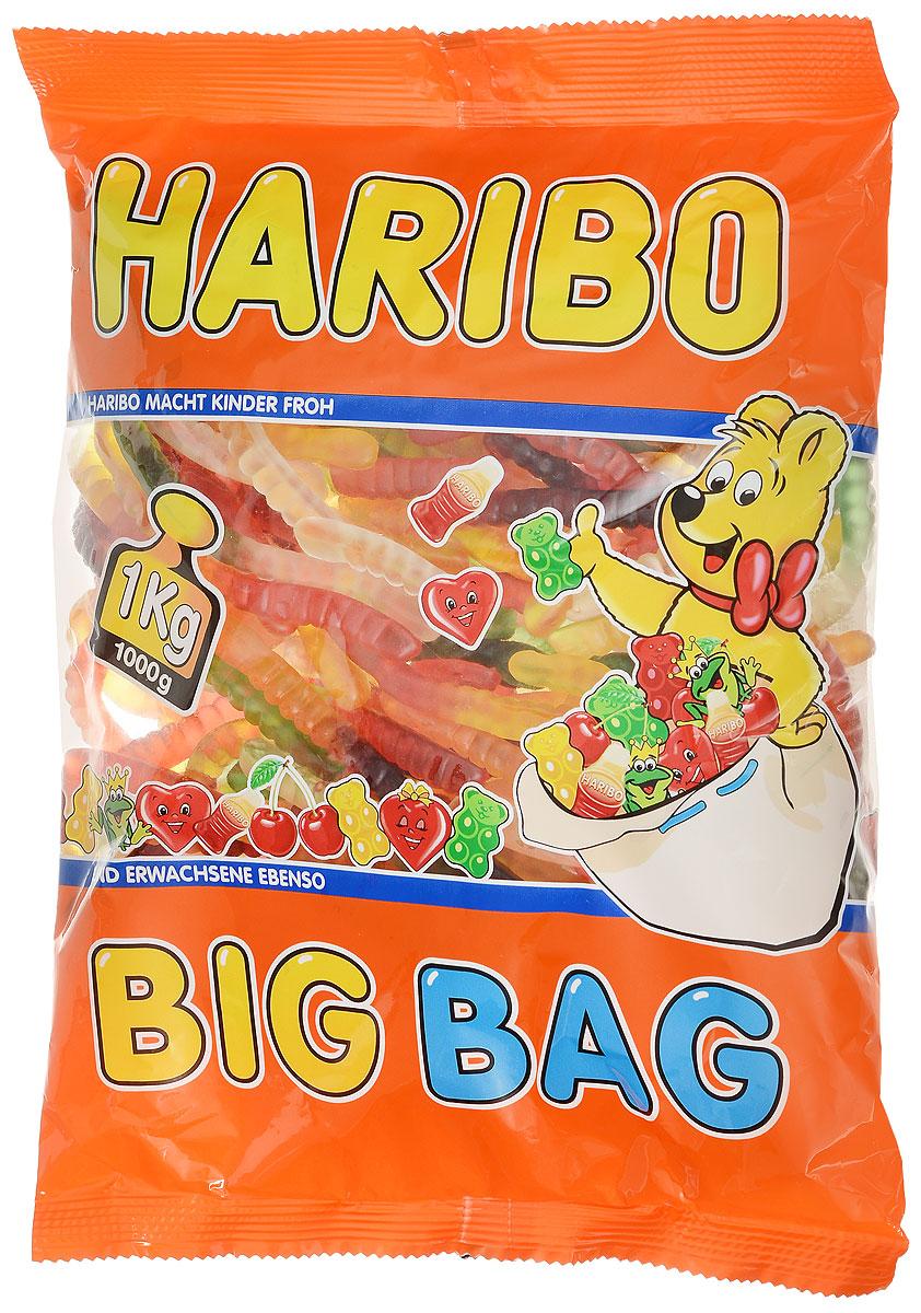 где купить  Haribo Червячки Вуммис жевательный мармелад, 1 кг  по лучшей цене