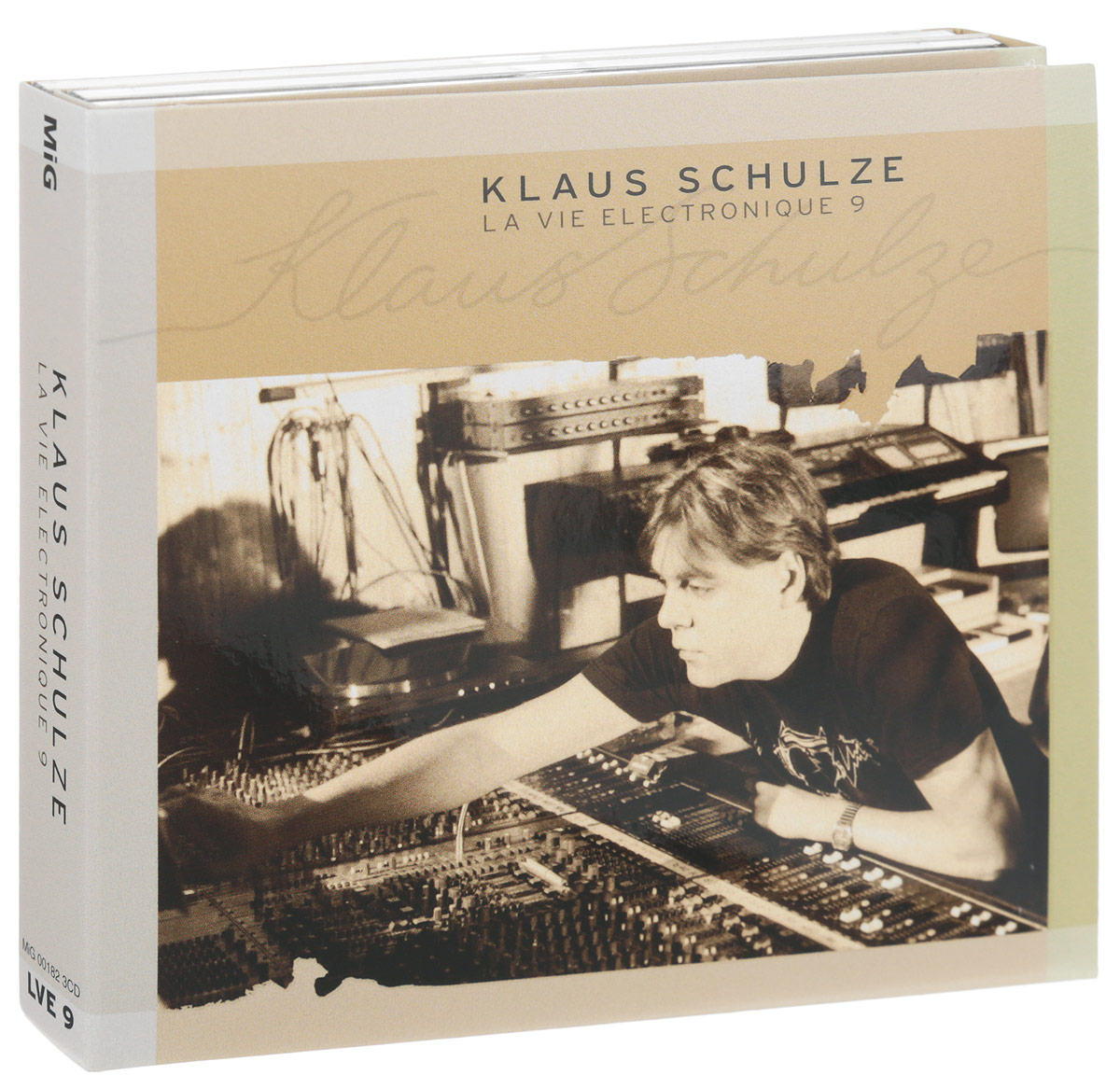 Klaus Schulze. La Vie Electronique 9 (3 CD)