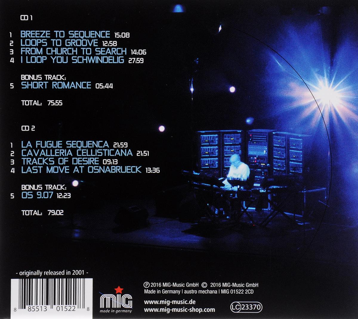 Klaus Schulze.  Live @ KlangArt (2 CD) MiG Music