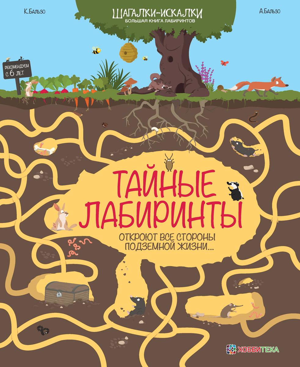 цены на К. Бальзо, А. Бальзо Тайные лабиринты. Большая книга лабиринтов в интернет-магазинах