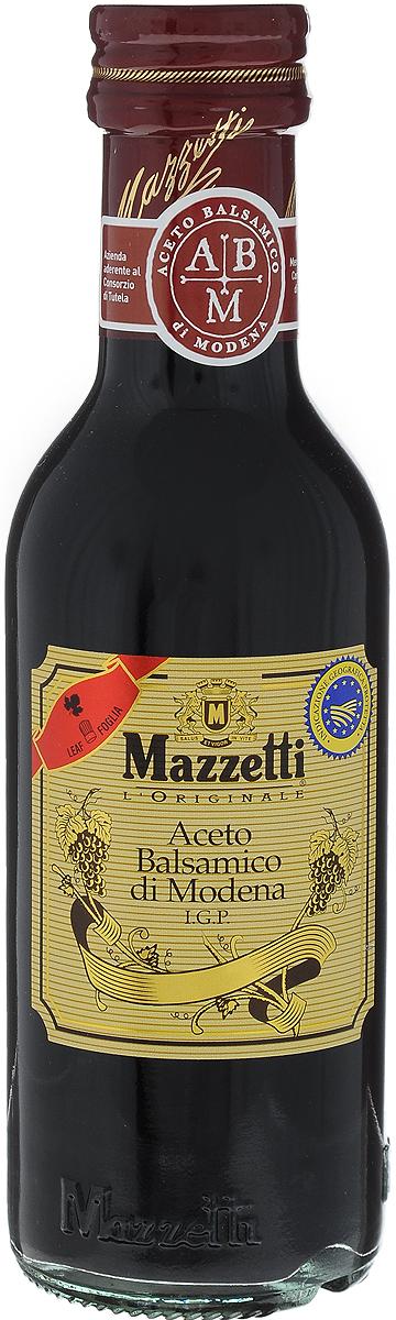 Mazzetti уксус бальзамический 1 листочек, 250 мл65101Бальзамический уксус Mazzetti изготовлен по традиционной рецептуре из винограда, выращенного в Эмилия-Романья (Италия), и выдержан в бочках из ценных пород дерева. Полученный продукт отличается насыщенным вкусом и пряным ароматом. Идеально подходит для заправки салатов и ежедневного использования. Красный знак 1 листочек означает легкий вкус.Уважаемые клиенты! Обращаем ваше внимание, что полный перечень состава продукта представлен на дополнительном изображении.