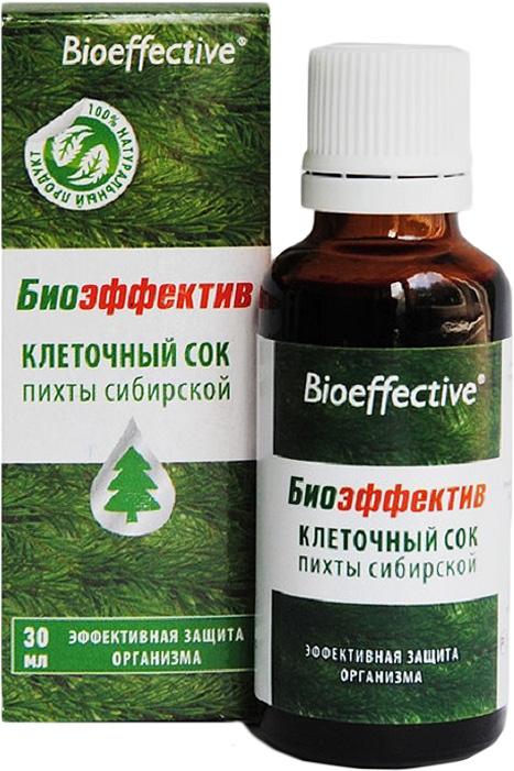 БиоЭффектив клеточный сок пихты сибирской, 30 мл, BioEffective