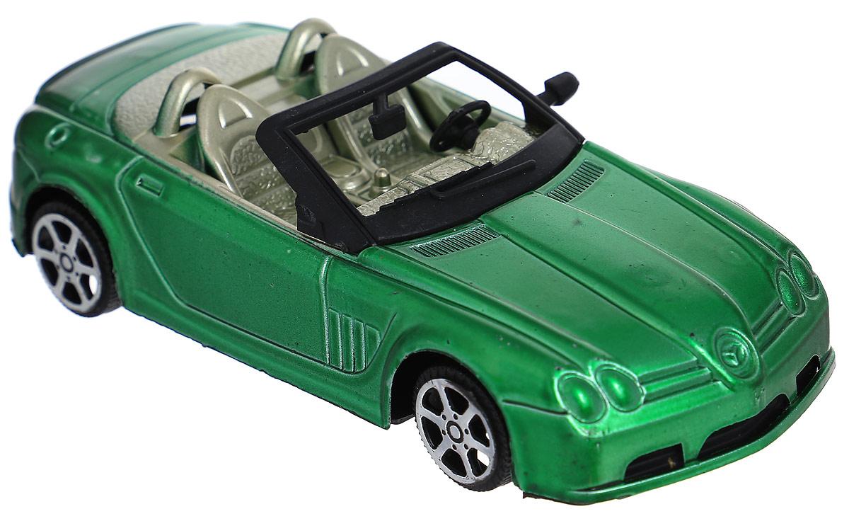 Junfa Toys Кабриолет инерционный цвет зеленый
