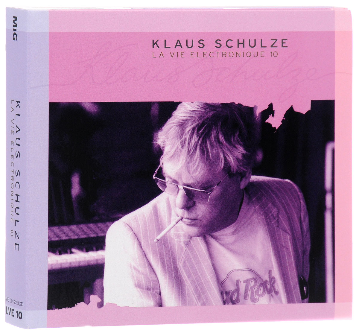 Klaus Schulze. La Vie Electronique 10 (3 CD)