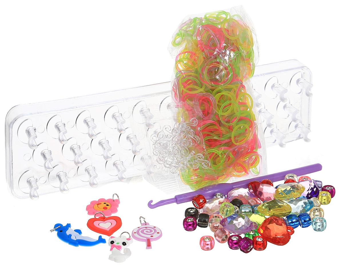 Felicita Набор для плетения из резиночек №1-5 цвет станка прозрачный