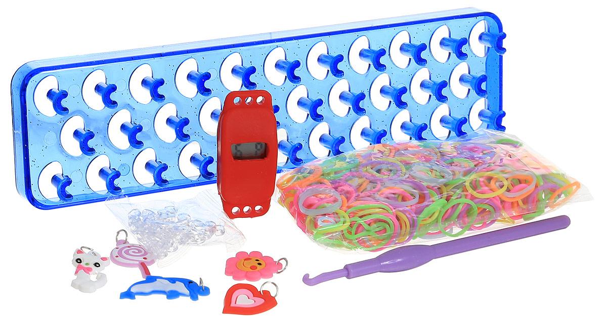 Felicita Набор для плетения из резиночек №1-2 цвет станка синий