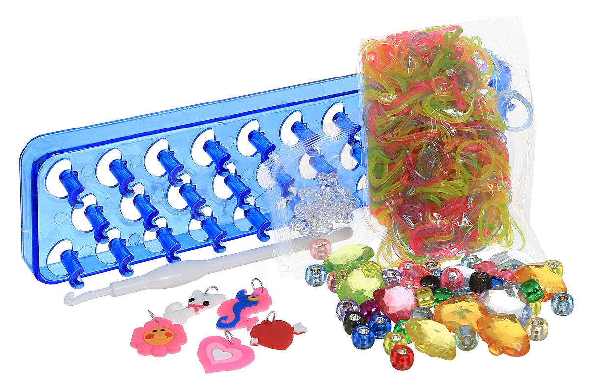 Felicita Набор для плетения из резиночек №1-5 цвет станка синий