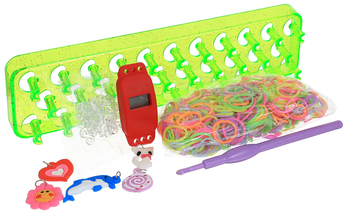 Felicita Набор для плетения из резиночек №1-2 цвет станка салатовый