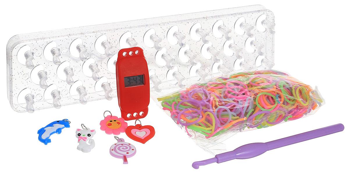 Felicita Набор для плетения из резиночек №1-2 цвет станка прозрачный