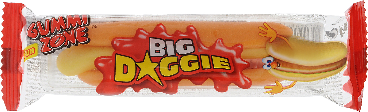 Gummy Zone Большой хот-дог мармелад, 32 г бумба балтика жевательный мармелад 108 г