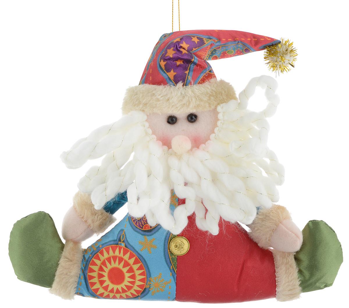 Украшение новогоднее подвесное Win Max Дед Мороз, 17 х 20,5 см набор сундучков win max 25 х 17 х 13 см 2 шт 83605