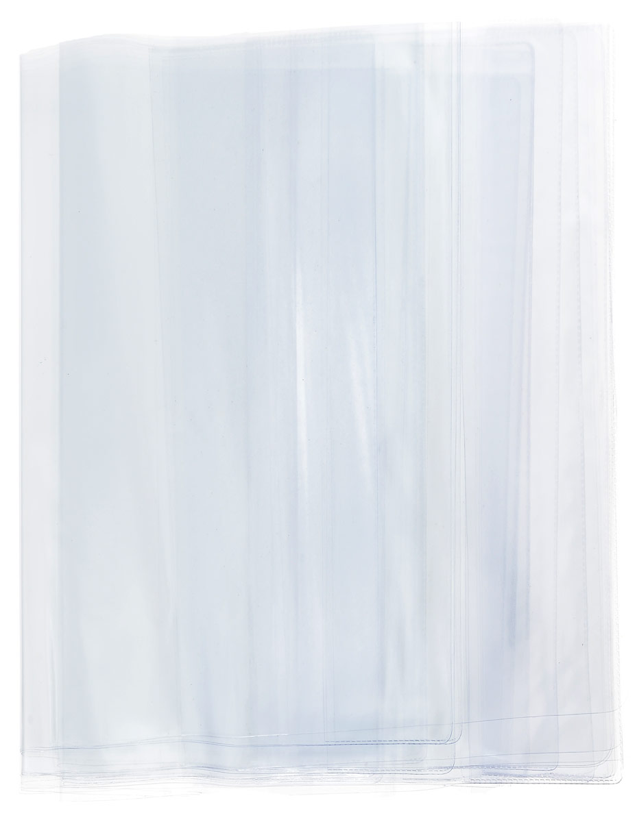 Брупак Набор обложек для младших классов 15 штк10-01/15Набор обложек для младших классов Брупак - это прозрачные гладкие обложки, выполненные из ПВХ, которые будут защищать все учебники и тетради от загрязнений на всем протяжении их использования.Комплект включает в себя пятнадцать обложек: три обложки для тетрадей Пропись размером 24,5 см х 35,5 см, пять универсальных обложек для учебников размером 23 см х 46,5 см, пять обложек для учебников младших классов размером 23,5 см х 36,5 см, две обложки для учебников Петерсон размером 26,7 см х 50,8 см.