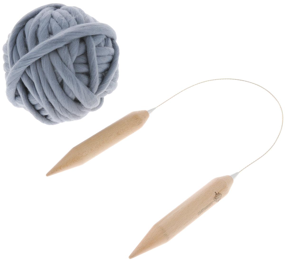 Набор для вязания из толстой пряжи Knitberry