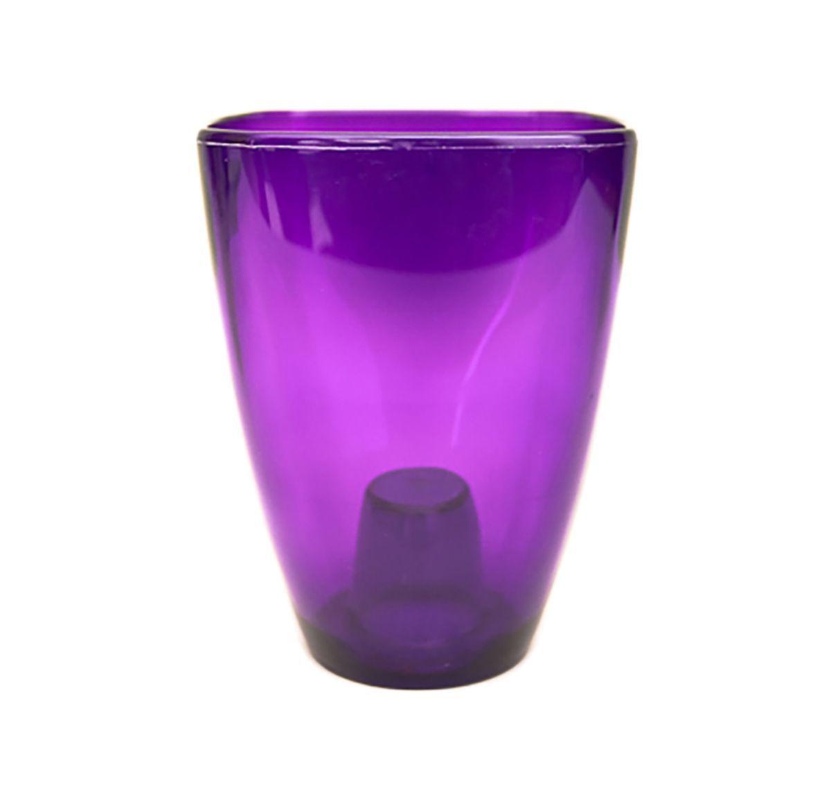 Кашпо для орхидей Form-Plastic Орхидея, цвет: фиолетовый, 10 х 10 х 16,5 см5908255628176Кашпо для орхидей Form-Plastic выполнено из высококачественного пластика. Прозрачные стенки обеспечат достаточное количество света корням растения. Необычная форма и насыщенный цвет подчеркнут красоту цветка.