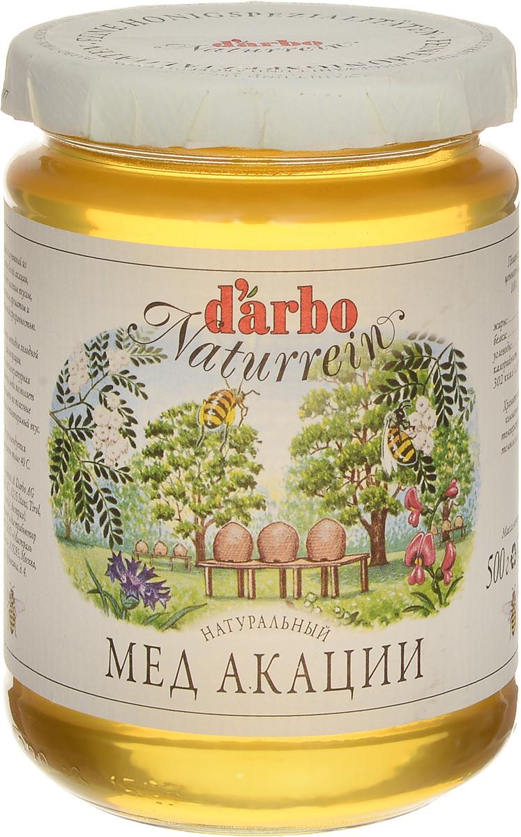 Darbo мед акации, 500 г22319Натуральный мед Darbo, полученный из цветов белой акации, обладает мягким вкусом, изящным ароматом и золотистой прозрачностью. Обработка методом холодной фильтрации. Низкотемпературная обработка меда позволяет сохранить все полезные вещества и неповторимый вкус.Не рекомендуется нагревать свыше 40 градусов.