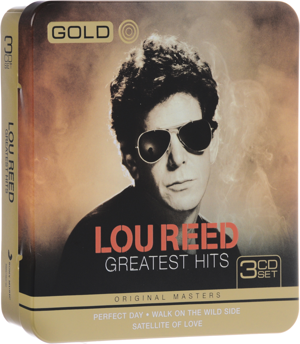 Лу Рид Lou Reed. Gold Greatest Hits (3 CD) лу рид lou reed live in concert