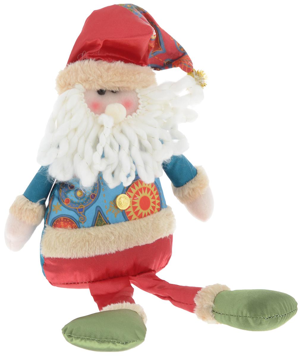 Украшение новогоднее декоративное Win Max Дед Мороз, 17,5 х 7 х 36 см175831_АУкрашение новогоднее декоративное Win Max Дед Мороз прекрасно подойдет для праздничного декора вашего дома. Изделие выполнено из текстиля с наполнителем из синтепона в виде забавного Деда Мороза. Для утяжеления и повышения устойчивости игрушки служит гранулят из полимера. Новогодние украшения несут в себе волшебство и красоту праздника. Они помогут вам украсить дом к предстоящим праздникам и оживить интерьер. Создайте в доме атмосферу тепла, веселья и радости, украшая его всей семьей.Кроме того, такая игрушка станет приятным подарком, который надолго сохранит память этого волшебного времени года.