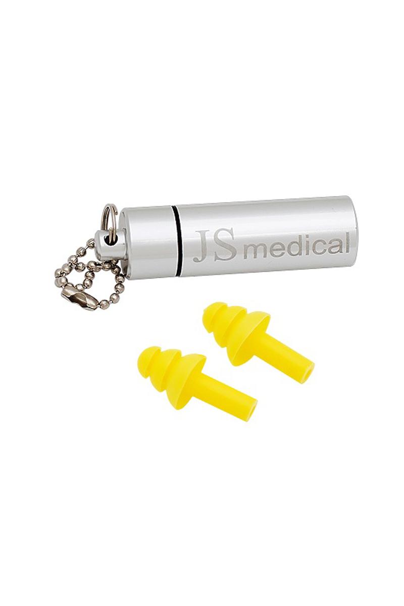 Беруши с металическим футляром для хранения JS Medical, для сна, 1 пара, 1 футляр29Изготовлены из 100% силикона, благодаря этому мягкие и комфортные. Используемый силикон гипоаллергенен. Благодаря своей форме, обеспечивают многоступенчатую защиту от шума и попадания воды.