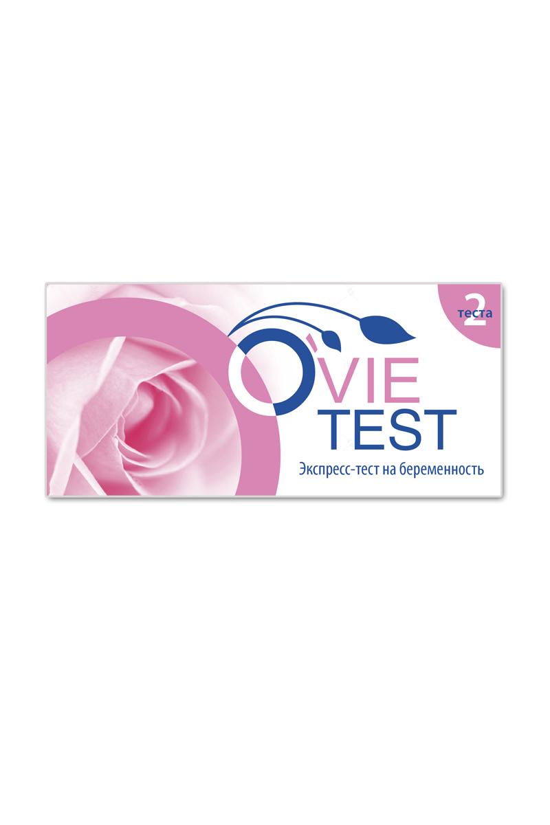 Тест для определения беременности OvieTEST №2201Ovie тест позволяет точно и быстро провести диагностику беременности в домашних условиях. Точный результат гарантирован с первого дня задежки. Чувствительность 25 мМЕ/мл. Достоверность более 99%.